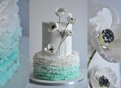 Wedding cake by CakesVIZ - http://cakesdecor.com/cakes/248436-wedding-cake