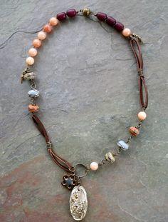 Lorelei's Blog: Art Bead Scene Design Team Challenge Necklace