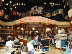 Disney's Soda Fountain & Studio Store - must duck into this when we go.