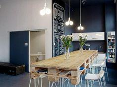 europalette möbel die küche mit palettenmöbel einrichten schöne dekoideen für den esstisch