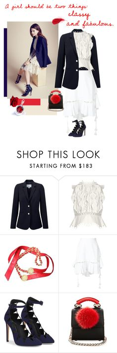 """""""Untitled #1474"""" by talisa ❤ liked on Polyvore featuring Chanel, Pure Collection, Zimmermann, Chloé and Les Petits Joueurs"""