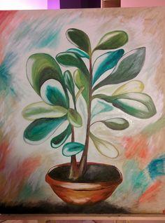 Canvas, painting, nature, painter, Valentina Barbera art gallery