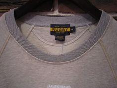 RRL、RUGBY等の通販サイト【RHYTHM】RUGBY(ラグビー) L/S SWEAT SHIRTS(スウェットシャツ)【DETAIL】