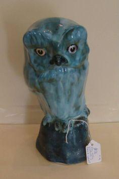 David Sharp Studio pottery Owl