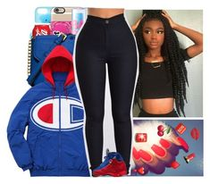 """""""Untitled #678"""" by issaxmonea ❤ liked on Polyvore featuring Champion"""