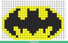 Batman logo #cool #batman #beads