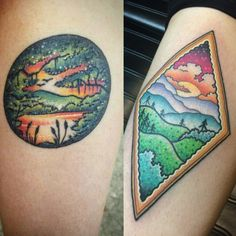 Source: Kevin Ray at Art Alive Tattoo in Archdale, NC – We Are Heallthy Alive Tattoo, Tattoo Blog, Nc Tattoo, Circle Tattoos, Tattoos Gallery, Ink Art, Tattoo Artists, Watercolor Tattoo, Tatting
