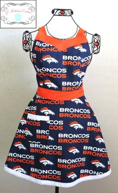 Sweetheart A Made From Nfl Denver Broncos By Jckitchencouture 35 00 Logo
