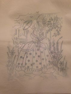 Tambour Embroidery, Hand Embroidery Patterns, Southern Belle, Sewing Crafts, Needlework, Art Ideas, Scenery, Coloring, Arts And Crafts