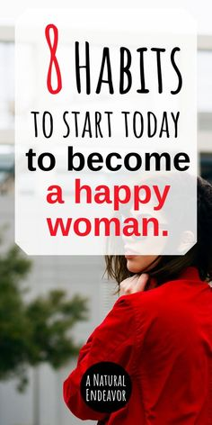 Become a Happier, Healthier woman with these 8 healthy habits. Being a healthy woman consists of a lot more than just eating your veggies (although that is on the list). We want our minds and…