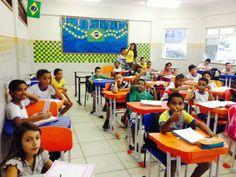 Blog do Inayá: Professora Mariana Fonseca anima a Turma 405 para a Copa do Mundo