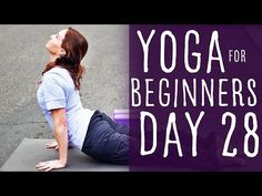 30 Minute Yoga For Beginners 30 Day Challenge Day 28 with Fightmaster Yoga - YouTube