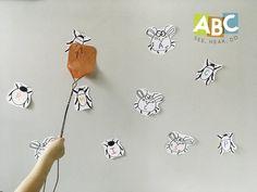 Letter B — Alphabet Bug Swat! Fun idea! www.abcseeheardo.com