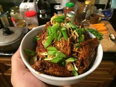 Korean style fried Chicken Wings