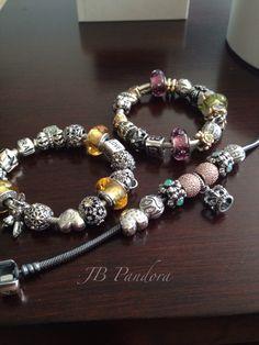 Pandora bracelet collection.