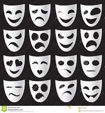 Isolated theatre masks expressing different emotions Teaching Theatre, Teaching Art, Drama Class, Different Emotions, Greek Art, Mask For Kids, Ancient Greece, Projects For Kids, Art Lessons