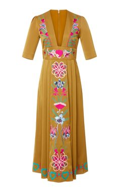Saturn Embroidered Dress by TEMPERLEY LONDON for Preorder on Moda Operandi