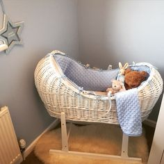 Can't wait till he's here now  #baby #newborn #mosesbasket #wicker #classic #cute