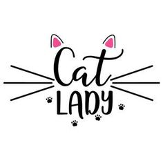 Silhouette Design Store: Allergic To Mornings Cat Quotes, Woman Quotes, Cat Sayings, Crazy Cat Lady, Crazy Cats, Cat Behavior, Cat Drawing, Silhouette Design, Cat Art
