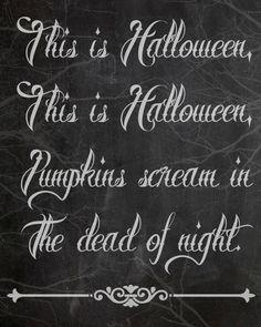 Free Halloween Chalkboard Printables - Classy Clutter