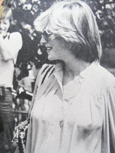 June 4, 1982: Princess Diana at the Guards Polo Club grounds to watch Prince Charles play a polo match.