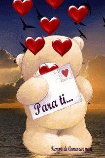 💖La Dama L.a💖 ✿◕‿◕✿Happy Valentines Lovers xo xo xo xo I Love You Pictures, Love You Gif, Love You Images, Free To Use Images, Love In Spanish, Coeur Gif, Corazones Gif, Birthday Wishes, Happy Birthday