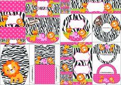 La Selva, para Niñas: Etiquetas para Candy Bar para Imprimir Gratis.