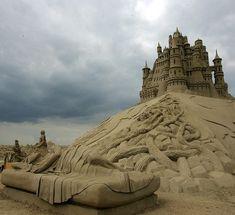 Incríveis esculturas de areia | Assuntos Criativos