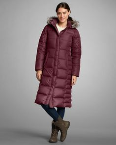 085f1abca6 another stunning long down coat - on the list .... Women s Lodge Down