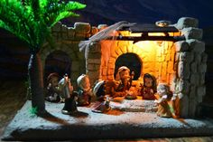 NIÑOS 6-01 Painting, Open Spaces, Nativity Sets, Nativity Scenes, Painting Art, Paintings, Painted Canvas, Drawings