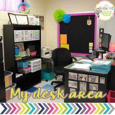 9 best teacher desk decorations images classroom organization rh pinterest com Classroom Organization Supplies Classroom Library Organization