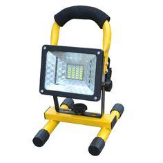 ASLT 방수 IP65 SMD3528 24LED 3 모델 30 와트 LED 홍수 빛 휴대용 스포트 라이트 충전식 야외 LED 비상 조명