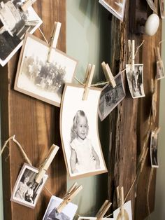 How to Host a Brunch Wedding Shower: To encourage conversation among guests, be sure to place items along the dining table that also serve as natural conversation-starters. To make the event more personal, supply the hostess with framed black-and-white photos featuring the bride-to-be and invitees. Grouped together, they create an instant focal point and help guests break the ice discussing everything from old hairstyles to college memories. From DIYnetwork.com