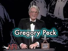 In 1989, Gregory Peck (TO KILL A MOCKINGBIRD, ROMAN HOLIDAY, CAPE FEAR) was the 17th AFI Life Achievement Award recipient. Watch his acceptance speech from the ceremony.