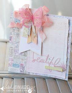 Dreamy Easter Card   Heidi Swapp