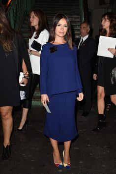 Miroslava Duma Photos: Front Row at Givenchy