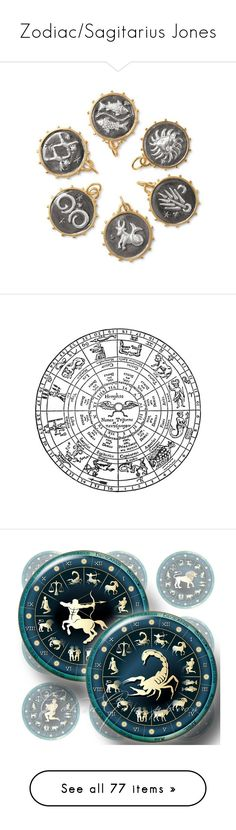 """Zodiac/Sagitarius Jones"" by muffinsangria ❤ liked on Polyvore featuring jewelry, pendants, women, stella dot jewelry, charm jewelry, stella dot jewellery, charm pendants, stella dot charms, fillers and backgrounds"