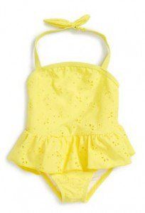 baby girl swimsuit one Piece swimsuits for infants (0-24 months)