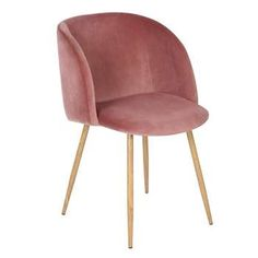 EGGREE Mid-Century Modern Accent Living Room Chair Upholstered Velvet Armchair Kitchen Dining Chair with Solid Steel Leg for Living Room Bedroom Reception Room Accent Furniture,Rose Pink Living Room Lounge, Living Room Accents, Accent Chairs For Living Room, Living Room Decor, Dining Rooms, Kitchen Dining, Pink Velvet Chair, Velvet Armchair, Velvet Chairs