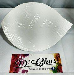 Fuentes del modelo Porcelana Hoja. #dchusregalos #DCHUS #fuentesporcelanahoja