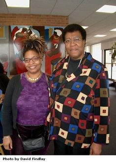 Nalo Hopkinson and Octavia Butler...So much awesomeness in one room!