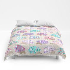 Hedgehog Polkadot Comforters