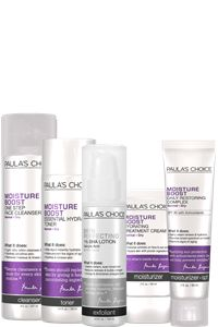 Moisture Boost System Effective for: Extra Sensitive Skin Save , 5-step routine replenishes and smooths normal to dry skin Hydrating formulas leave your skin feeling soft and comfortable BHA exfoliant calms your skin and stimulates healthy collagen production See your skin become healthier and look radiant Clinically proven non-irritating 100% fragrance free, no added dyes No animal testing