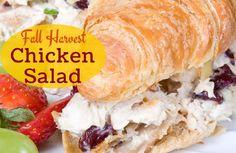 Fall Harvest Curry Chicken Salad: use FF plain yogurt