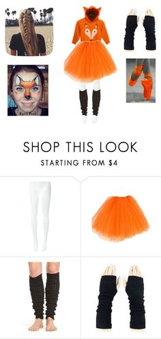 """""""Fox Costume"""" by hmarbut on Polyvore featuring Comme des Garçons and Hue"""