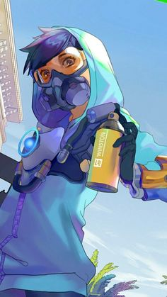 Graffiti Tracer everyone Overwatch Tracer, Overwatch Video Game, Overwatch Drawings, Female Character Design, Character Art, Female Characters, Anime Characters, Tracer Fanart, Overwatch Wallpapers
