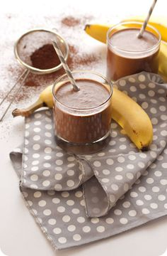 Chocolate & Peanut Butter Protein Smoothie