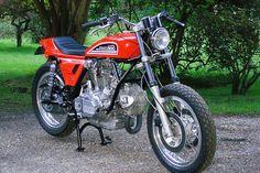 Custom Ducati tracker