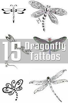 Dragonfly Tattoo Designs - The Body is a Canvas