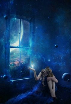 """Three Rivers Deep - """"A 'two-souled girl' begins a journey of self-discovery. Fantasy Magic, Fantasy World, Fantasy Art, Fantasy Places, Story Inspiration, Writing Inspiration, The Last Wish, Rhapsody In Blue, Tatoo Art"""